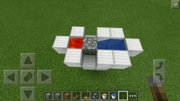 我的世界0.15.1自动挂机刷石机制作方法[多图]