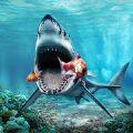 饥饿的大白鲨攻击模拟器破解版