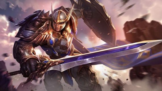 Garena传说对决骑士之王杰罗萨技能属性介绍[多图]