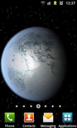 3D高清地球旋转动态壁纸图片图6