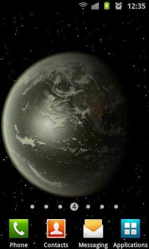 3D高清地球旋转动态壁纸图片图8
