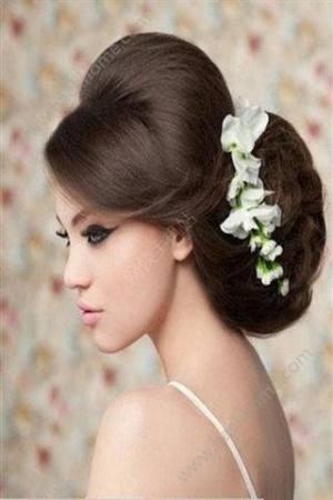 新娘发型图片2017款图4