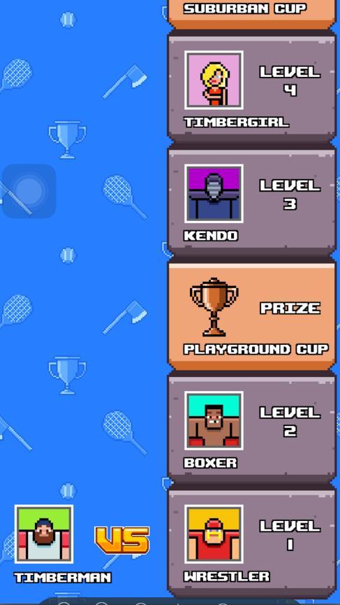 Timber Tennis攻略大全 全关卡通关攻略[图]