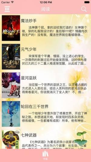 海棠文学城app图4