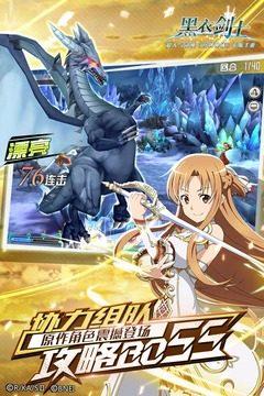 刀剑神域黑衣剑士IOS图4