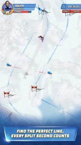 滑雪传奇游戏图1