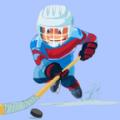 曲棍球进球砸冰球游戏中文版(Hockey Goal Smash ice Ball) v1.0