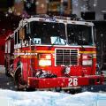 冬季救援消防车游戏
