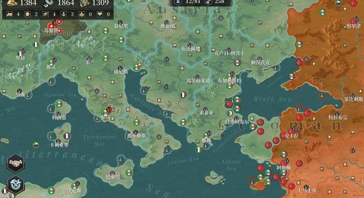 欧陆战争61914征服第四章攻略 征服4开局及通关流程详解[多图]